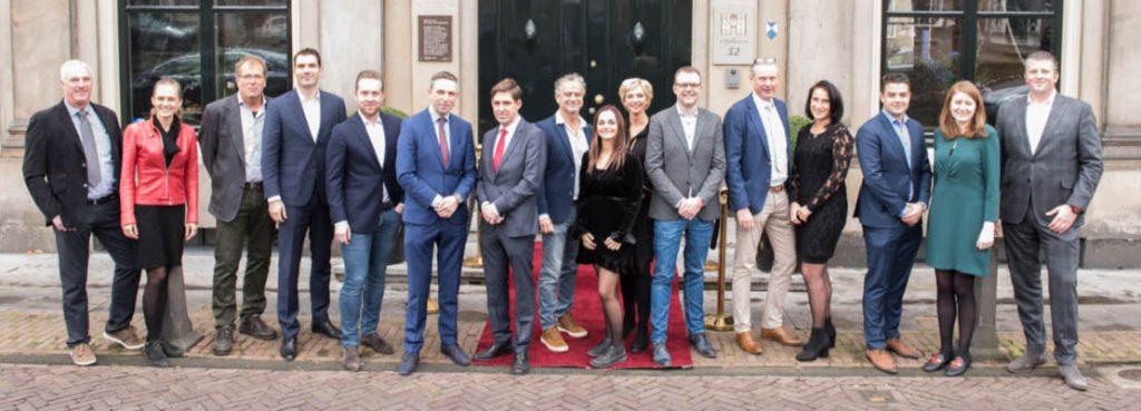 De genomineerden voor de Ondernemersprijs Midden-Holland 2019 (foto: John Roeland)